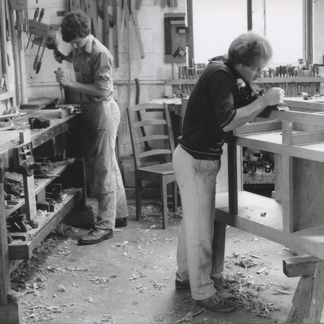 John Griffiths Restoration Apprentice 1983