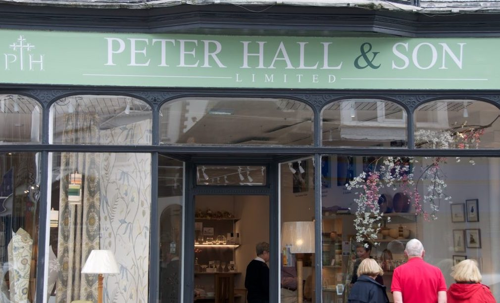 Peter Hall & Son Boutique and Interior Design Studio Windermere