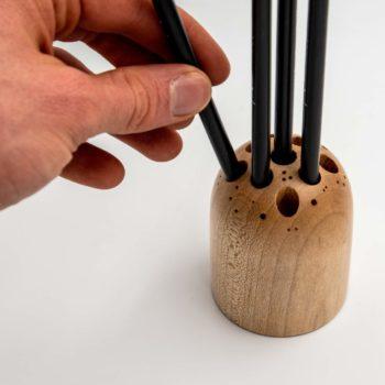 wooden-pencil-holder